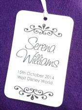 Swash Personalised Swing Tags!